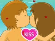 لعبة التقبيل في المدرسة