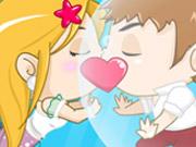 لعبة تقبيل حورية البحر الصغيرة